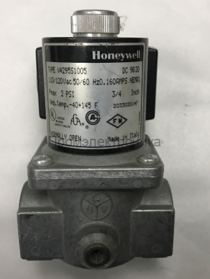 Gas valve Honeywell V4295