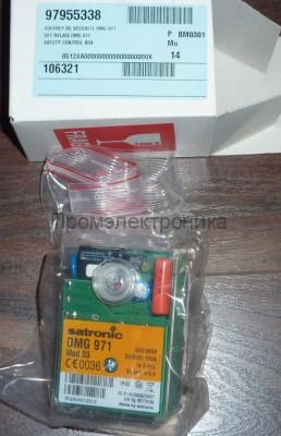 DMG 971 Mod.03 Satronic /Honeywell control unit combustion